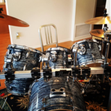 6 Piece Export/Fusion Drum Set and More! in Leesville, Louisiana