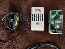 East River Drive and MXR 6 Band EQ Pedals with Power Supply in Kingwood, Texas