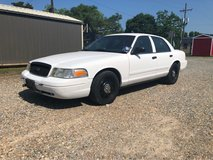 2009 Ford Crown Vic Police Unit in Fort Polk, Louisiana