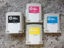 HP 88XL Ink Cartridges 30% off and basically NEW! in Bolingbrook, Illinois