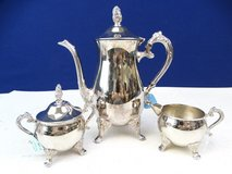 Three Piece Silver Plated Teaset in Pearland, Texas
