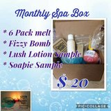 Monthly Spa Box in Camp Pendleton, California