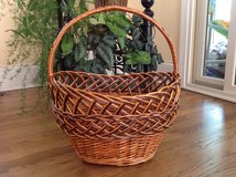 Basket, Decorative Willow Basket, Easter Basket, Willow Wicker Basket in Palatine, Illinois