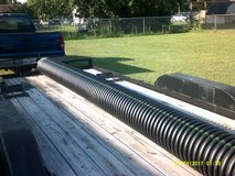 "12"" wide x 16' long black plastic corrugated culvert / drainage pipe in Pearland, Texas"