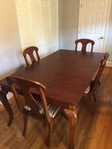 Dining table, server and 8 chairs in Fairfax, Virginia