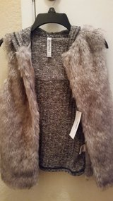 Faux fur vest in Fairfield, California