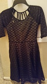 Girls black party dress in Fairfield, California