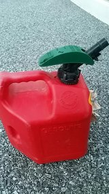 Gasoline container in Okinawa, Japan