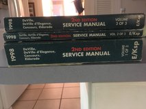 cadillac 1998  set of 3 original service manuals in great condition , covers the De'Ville, D'Ele... in Cherry Point, North Carolina