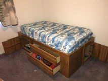 Twin bed in Yucca Valley, California