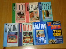 7 sue grafton paperbacks in St. Charles, Illinois