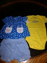 3 piece outfit...size 12 months new in Coldspring, Texas