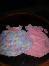 2 cute one piece outfits...new size 12 months in Coldspring, Texas
