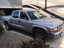 2004 Silver Dodge Dakota Quad Cab SLT in Fairfield, California