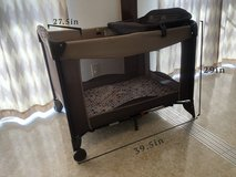 Folderable baby crib w/change station in Okinawa, Japan