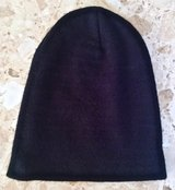 Black Beanie Hat in Okinawa, Japan