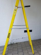 7-foot Stanley ladder with free workman's belt in Stuttgart, GE