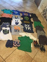 Boys size small clothing & shoe lot prices separately in Fort Polk, Louisiana