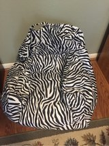 Big Joe bean bag chair zebra in Houston, Texas