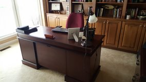 Office furniture-Desk and armoire in Quantico, Virginia