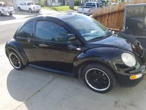 2000 Vw Beetle Stick Shift, Runs Great, but needs a little work $1245 OBO in Fairfield, California