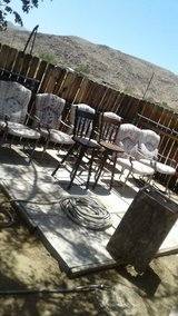 patio  chairs in Yucca Valley, California