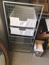 Metal drawers with baskets in Glendale Heights, Illinois