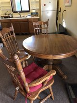 oak table and chairs in Fairfield, California