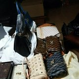 Leather designer inspired hand bag call for the prices in Fort Riley, Kansas