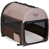 Petmate Portable Pet Home, Dark Taupe/Coffee Grounds Brown in Aurora, Illinois