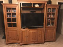 Entertainment Center-Solid Pine in Kingwood, Texas