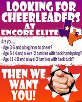 All-Star Cheerleading Teams Forming in Cleveland, Texas