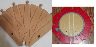 Seeking Wooden Train 5 way switch or turn table ISO Wood Turntable in Lockport, Illinois