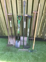 Selection of Garden Tools in Lakenheath, UK