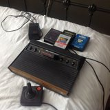 Atari 2600 vintage console and games in Lakenheath, UK