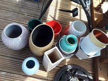 bundle of plant pots and vases in Lakenheath, UK