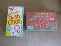 Time & Fraction Flashcards in Oswego, Illinois