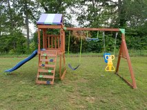 Wooden Swing and Slide Play Set in Fort Knox, Kentucky