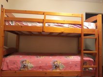 Twin bunk bed frame/ beds in Schofield Barracks, Hawaii