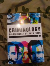 Steven Jones Criminology Textbook 6th Edition in Alamogordo, New Mexico