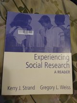 Experiencing Social Research Strand and Weiss Textbook in Alamogordo, New Mexico