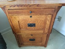 Mission style 2 drawer file cabinet in Bolingbrook, Illinois