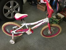 Girl Bike size 18 wheel age 8-10 in Camp Lejeune, North Carolina