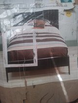 Kids wooden twin bed with headboard in Lawton, Oklahoma