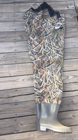 brand new waders with boots   size 10 in Warner Robins, Georgia