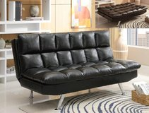 "BRAND NEW! URBAN COMFY "" PILLOWTOP"" LEATHER SOFA BED SLEEPER in Camp Pendleton, California"