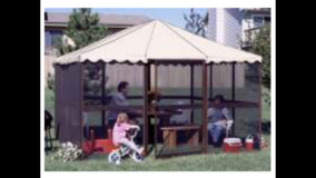 Screen House Gazebo in Chicago, Illinois