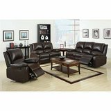 NEW! URBAN COMFY QUALITY LEATHER DUAL RECLINER SOFA in Camp Pendleton, California