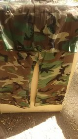 overgarmet chemical protectibe pants have suspenders in Fort Carson, Colorado
