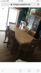 Wood Dining Room Table in Tampa, Florida